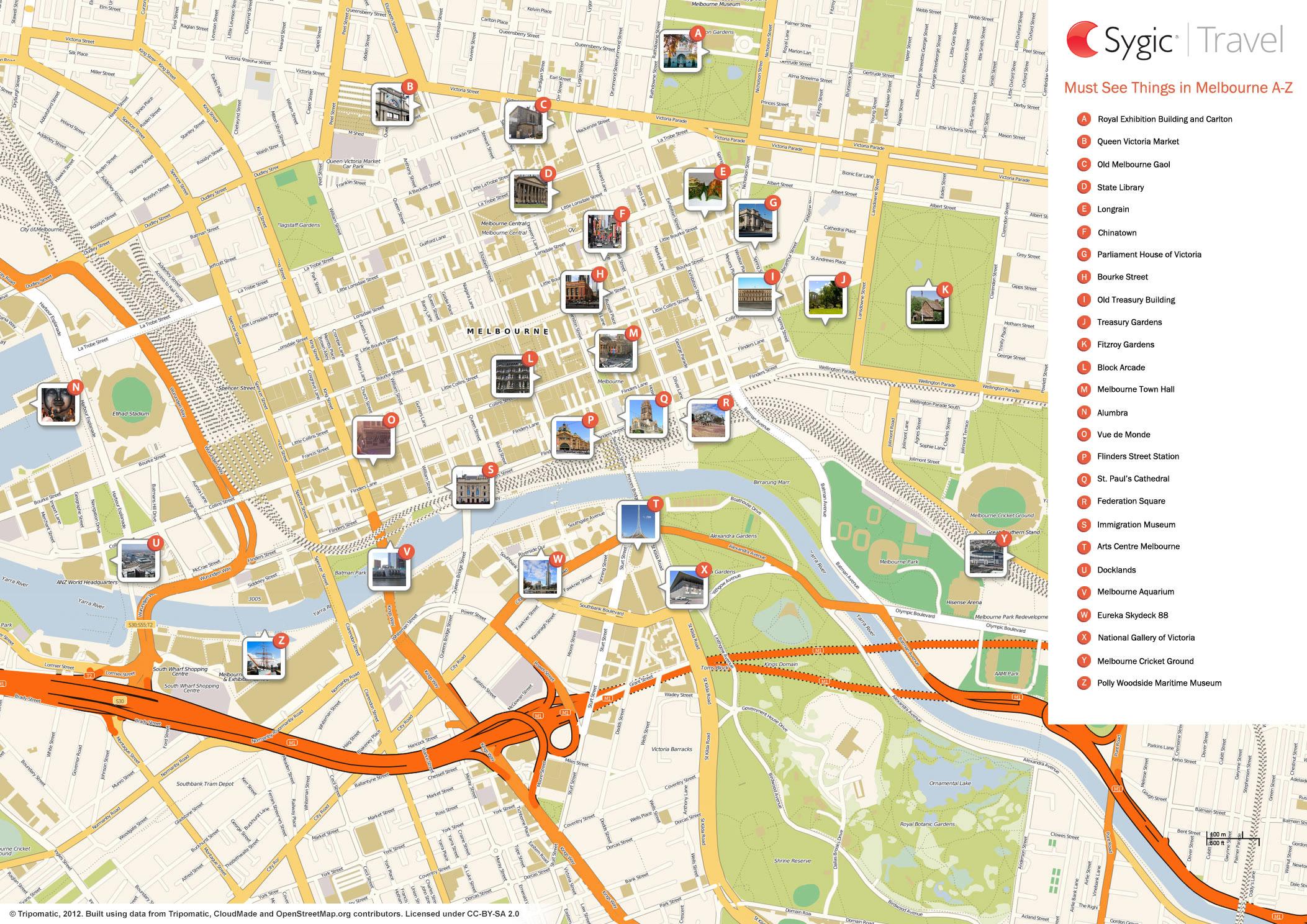 sydney city map tourist pdf to word - photo#24