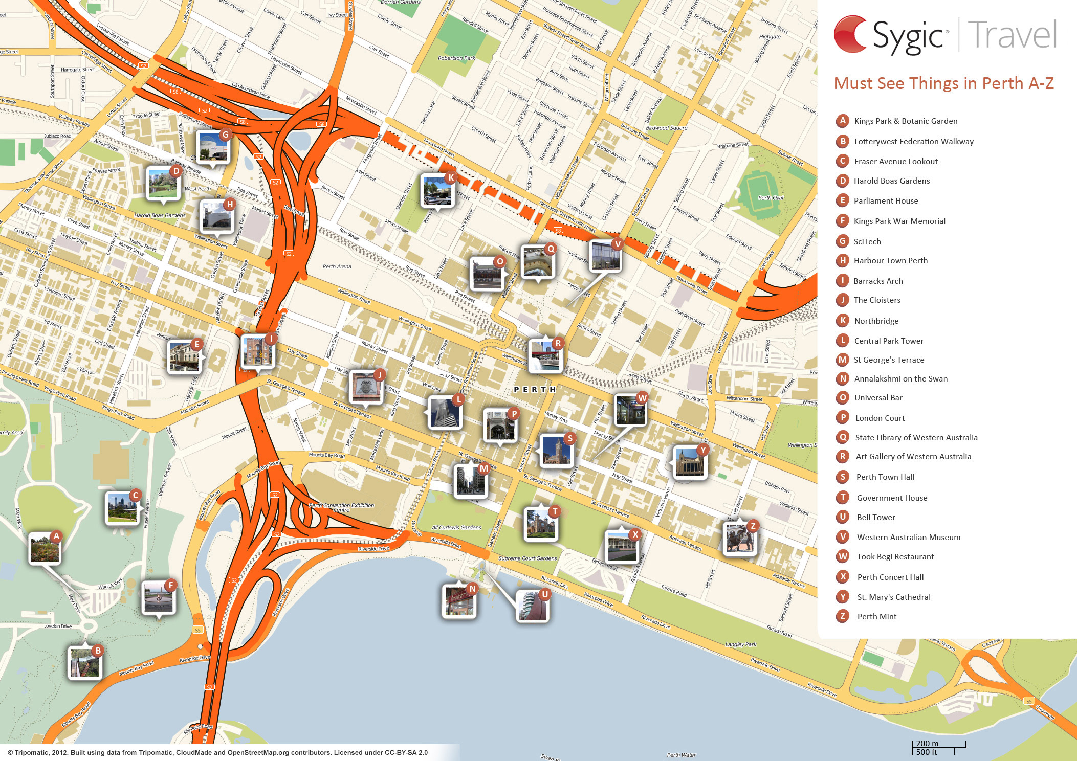 Map Of Australia With Landmarks Sydney Tourist Attractions Map – Sydney Tourist Map
